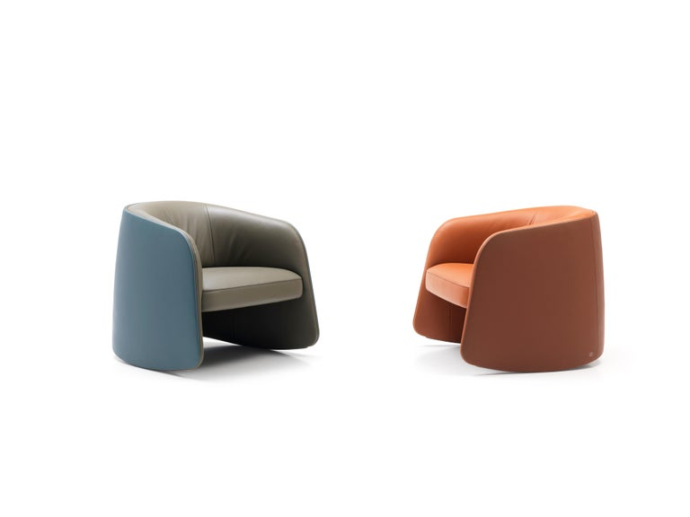 De Sede Customizable Leather Rocking Chair For Sale 2