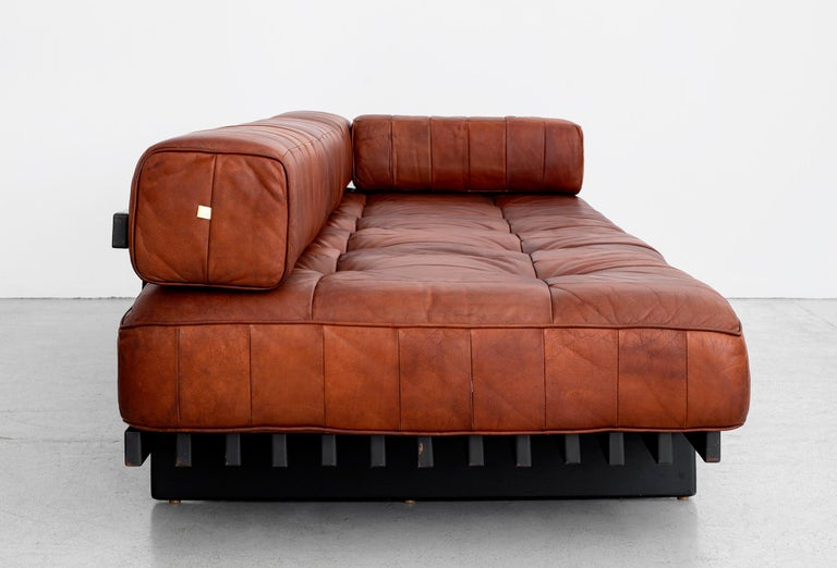 Leather De Sede Daybed For Sale