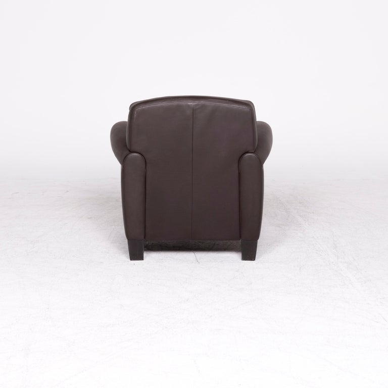 De Sede Designer Leather Armchair Set Brown Genuine Leather Chair 2