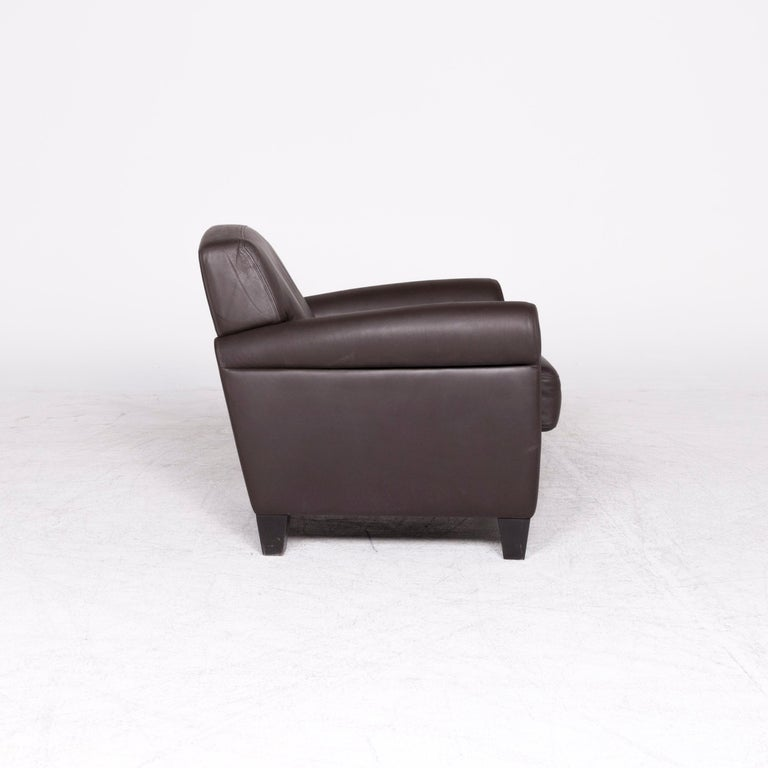 De Sede Designer Leather Armchair Set Brown Genuine Leather Chair 3