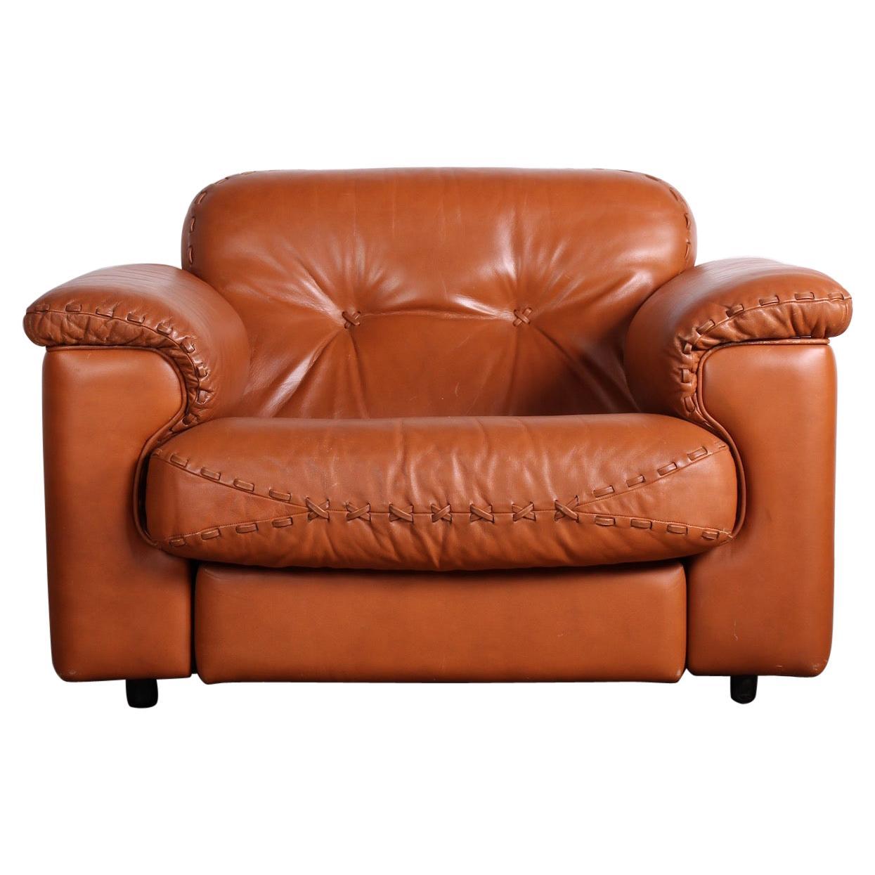"De Sede ""DS-101"" Leather Lounge Chair"