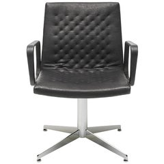 De Sede DS-1051/02 Armchair in Black Upholstery by De Sede Design Team