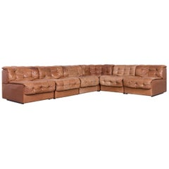 De Sede Ds 11 Designer Leather Sofa Brown Corner Couch