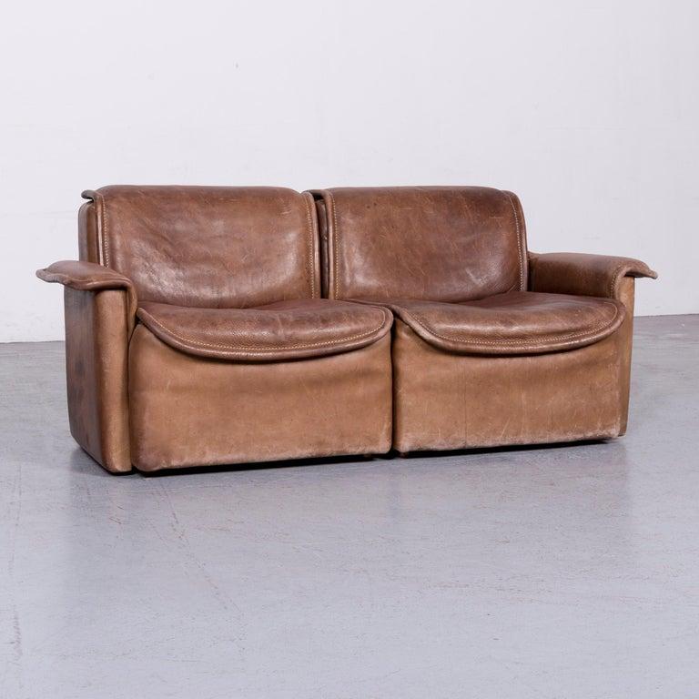 de sede ds 12 designer sofa brown leather couch for sale at 1stdibs. Black Bedroom Furniture Sets. Home Design Ideas