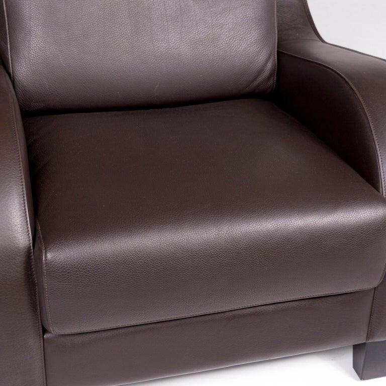 Modern De Sede DS 122-01 Leather Armchair Brown