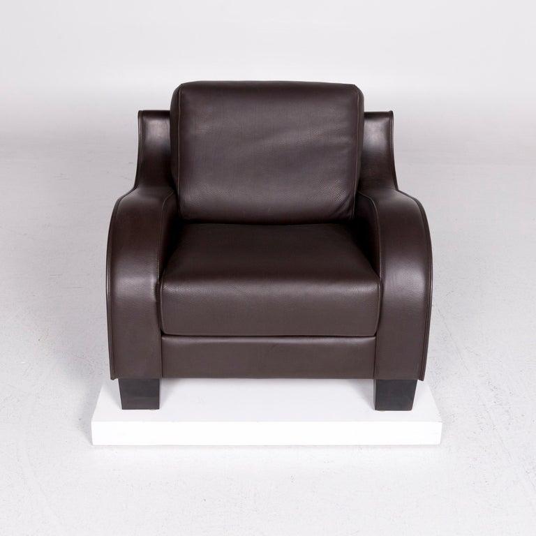 De Sede DS 122-01 Leather Armchair Brown In Excellent Condition In Cologne, DE