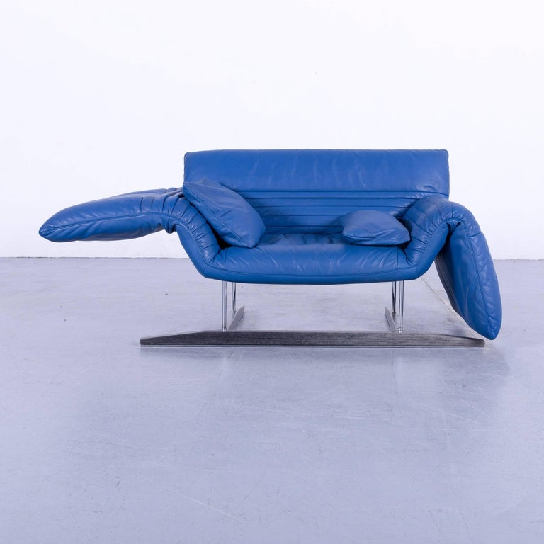 We Bring To You An De Sede Ds 142 Leather Sofa Blue One Seat Love