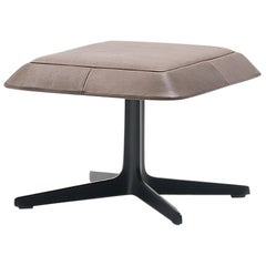 De Sede DS-144 Stool in Taupe Upholstery by Werner Aisslinger