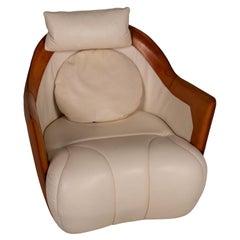 De Sede DS 146 Leather Armchair Cream