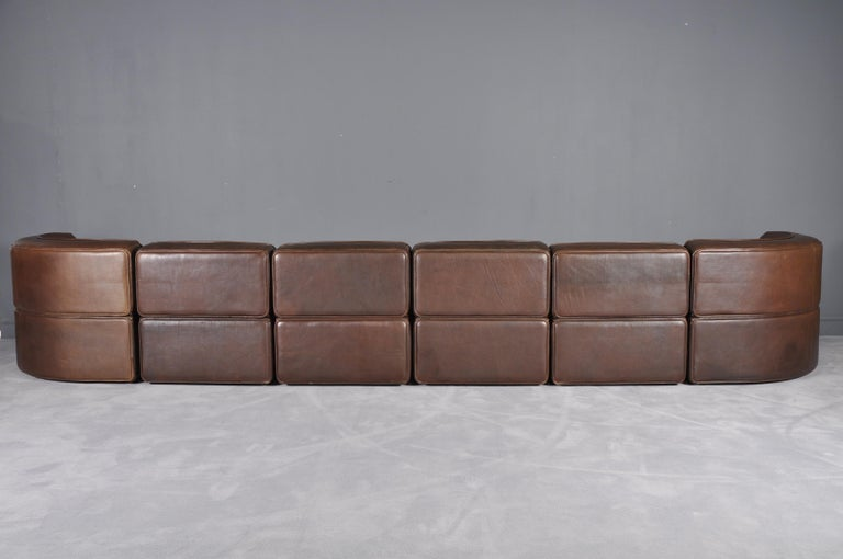 Late 20th Century De Sede DS-15 in Dark Brown Buffalo Leather, 1970s For Sale