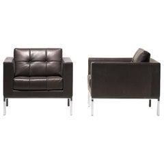De Sede DS-159 Armchair in Cigarro Brown Upholstery by De Sede Design Team