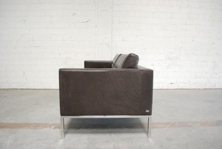 De Sede DS 159 Brown Naturale Leather Sofa 10