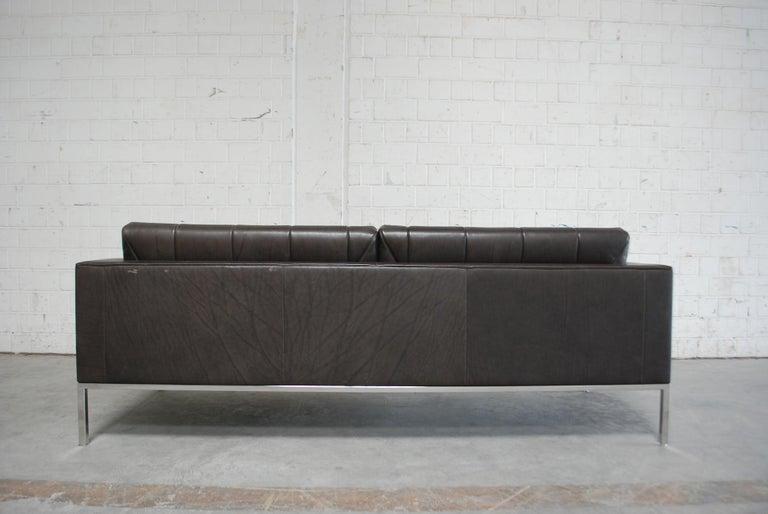 De Sede DS 159 Brown Naturale Leather Sofa 12
