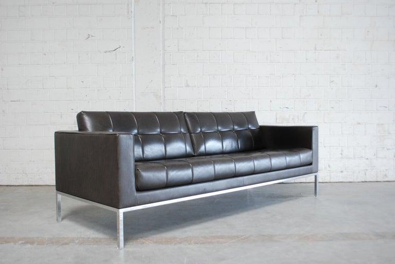 De Sede DS 159 Brown Naturale Leather Sofa 19