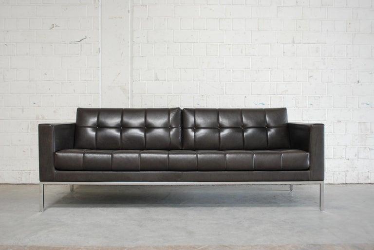 De Sede DS 159 Brown Naturale Leather Sofa 2