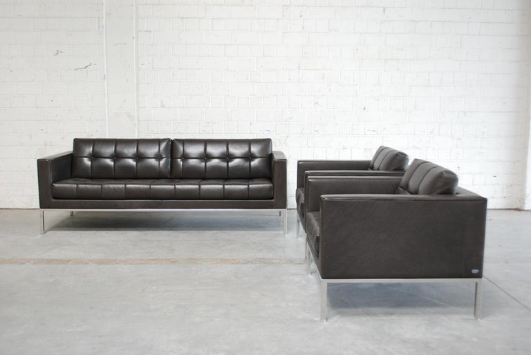De Sede DS 159 Brown Naturale Leather Sofa 20