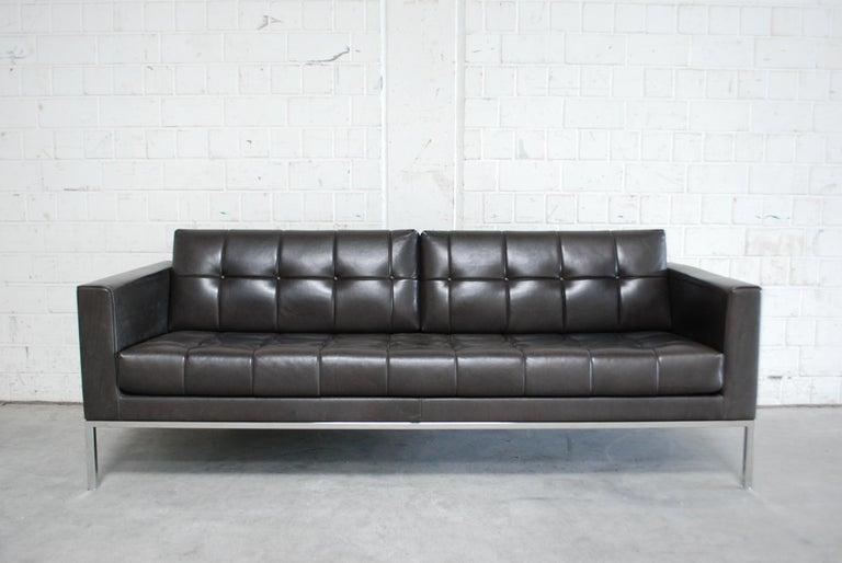 De Sede DS 159 Brown Naturale Leather Sofa 3