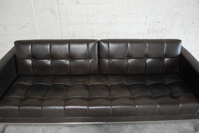 De Sede DS 159 Brown Naturale Leather Sofa 4
