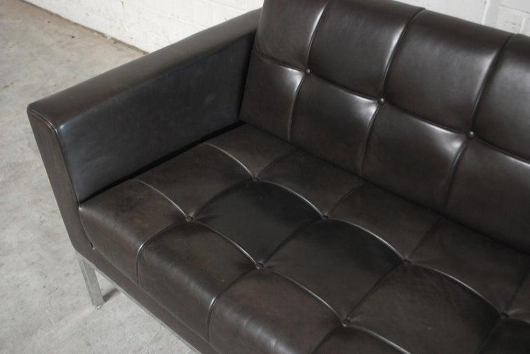 De Sede DS 159 Brown Naturale Leather Sofa 6