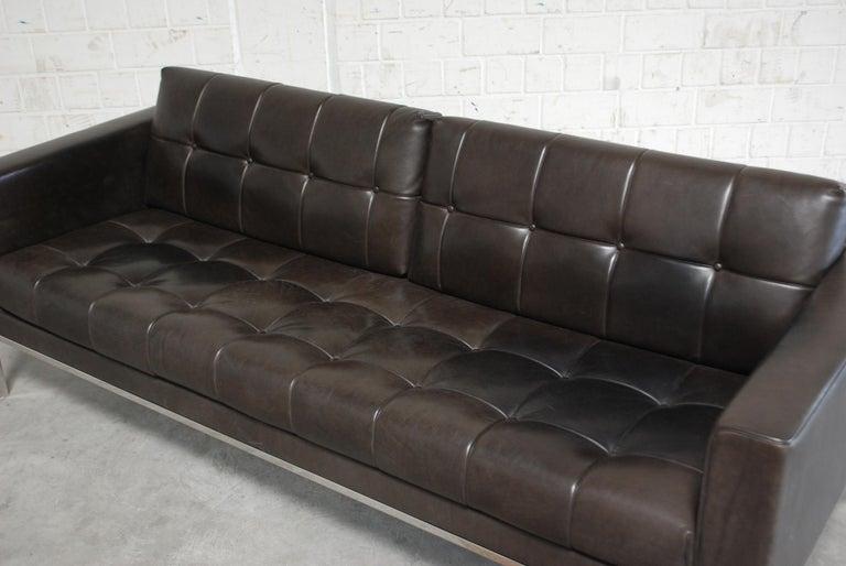 De Sede DS 159 Brown Naturale Leather Sofa 7