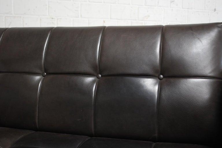 De Sede DS 159 Brown Naturale Leather Sofa 8
