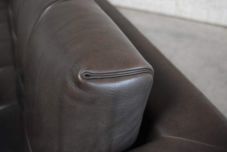 De Sede DS 159 Brown Naturale Leather Sofa 9