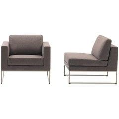 De Sede DS-160 Armchair in Craft Brown Upholstery by De Sede Design Team