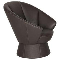 De Sede DS-163 Armchair in Cigarro Upholstery, Virginia Harper & Babak Hakakian