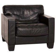De Sede DS 17 Leather Armchair Black