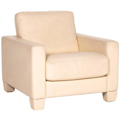 De Sede DS 17 Leather Armchair Cream