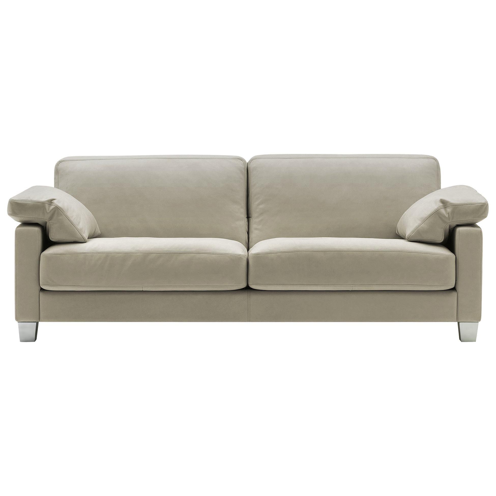 De Sede DS-17 Three-Seat Sofa in Beige Upholstery by Antonella Scarpitta