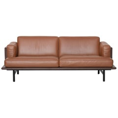 De Sede DS-175 Large Two-Seat Sofa in Hazel Upholstery by Patrick Norguet