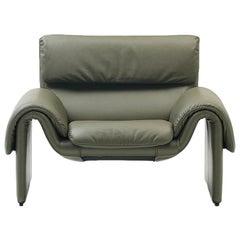 De Sede DS-2011 Armchair in Jade Upholstery by De Sede Design Team