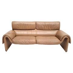 De Sede DS-2011 Vintage Two-Seat Sofa, 1970s