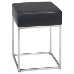 De Sede DS-218/05 Stool in Black Upholstery by Paolo Piva