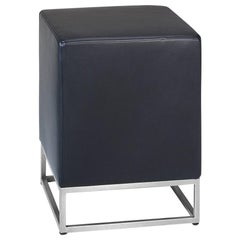 De Sede DS-218/15 Stool in Black Upholstery by Paolo Piva