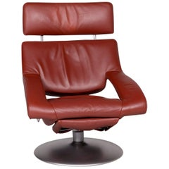 De Sede Ds 255 Leather Armchair Red Incl. Function