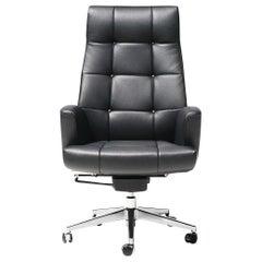 De Sede DS-257/11 Executive Armchair in Black Upholstery by De Sede Design Team