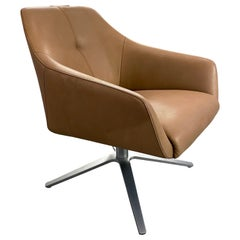 de Sede DS 278 Swivel Leather Chair designed by Christian Werner