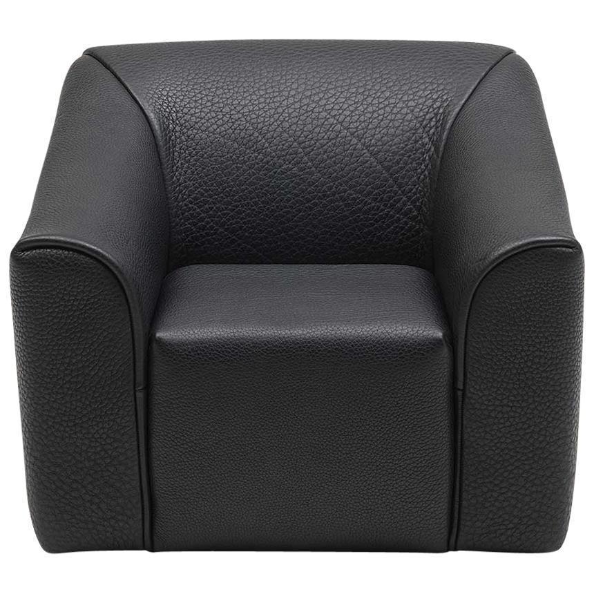 De Sede DS-2847 Armchair in Black Upholstery by De Sede Design Team