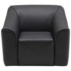 De Sede DS-2847 Armchair in Black Upholstery by De Sede Design Team