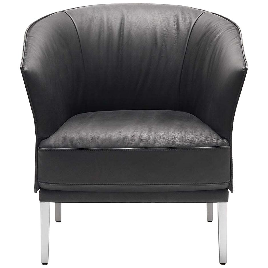 De Sede DS-291 Armchair in Black Upholstery by De Sede Design Team