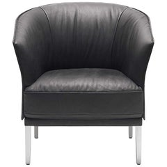 De Sede DS-291 Armchair in Black Upholstery by De Sede Design Team