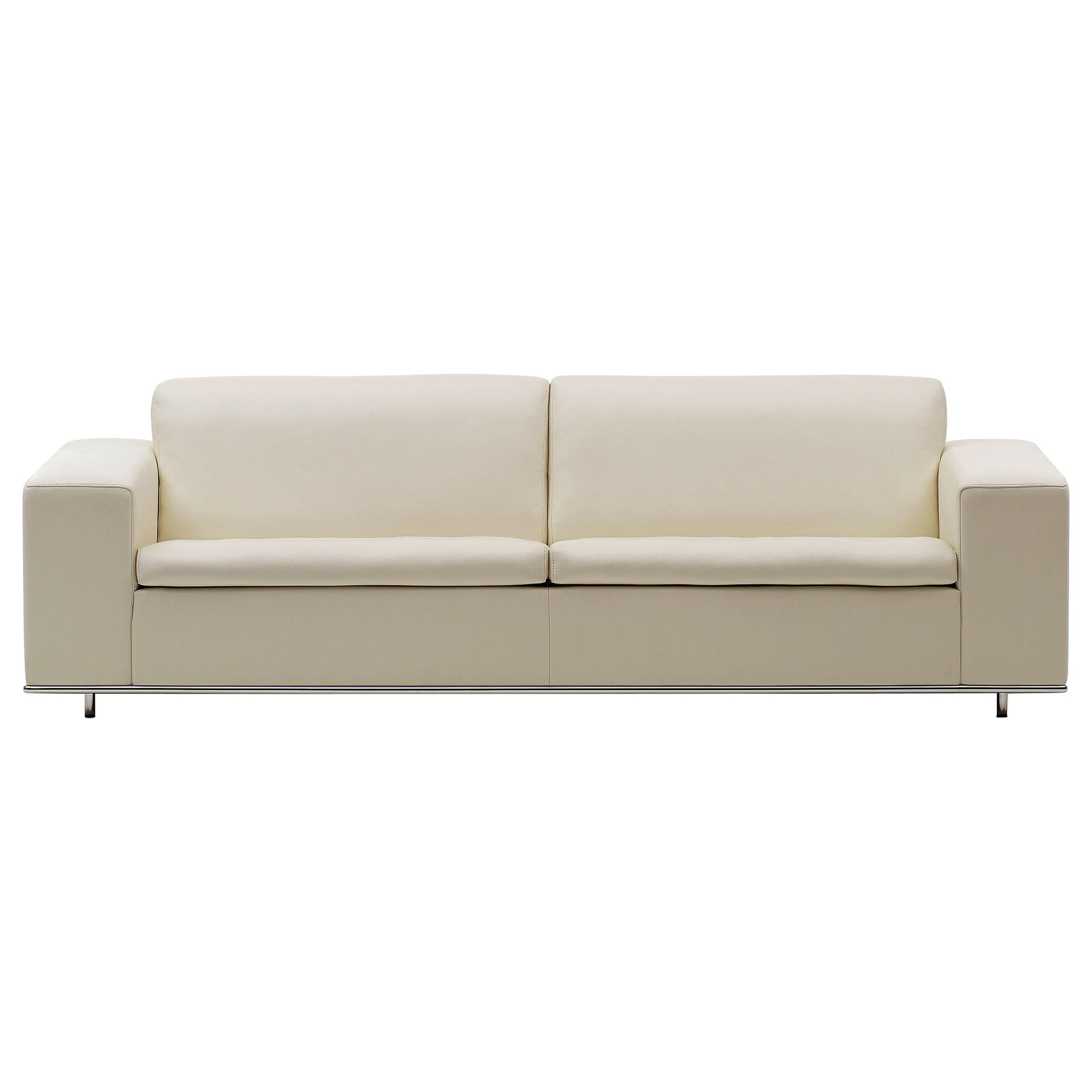 De Sede DS-3 Three-Seat Sofa in Beige Upholstery by Antonella Scarpitta