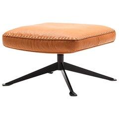 De Sede DS-31 Stool in Teak Upholstery by Antonella Scarpitta