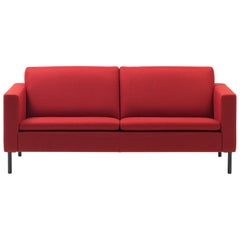 De Sede DS-4 Two-Seat Sofa in Red Upholstery by Antonella Scarpitta