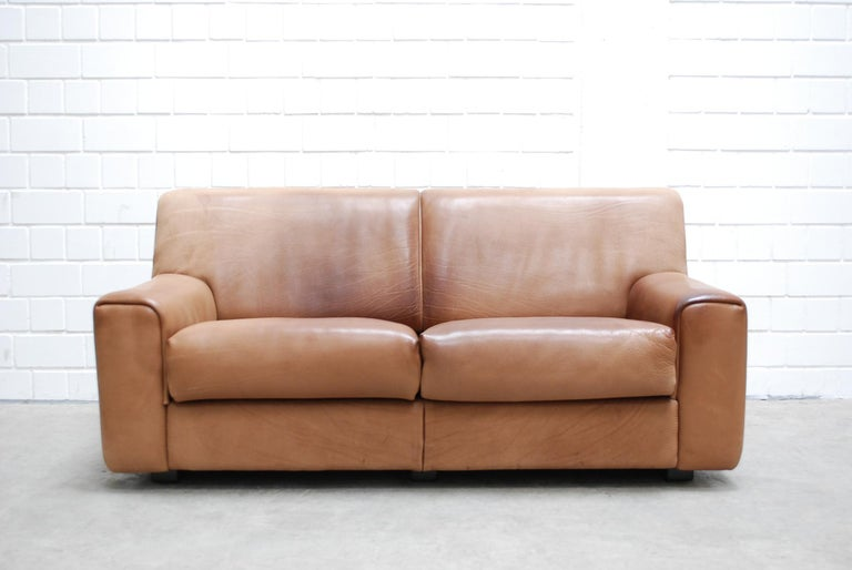 De Sede DS 42 neck leather sofa.