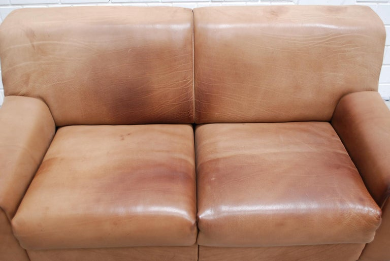 Swiss De Sede Ds 42 Neck Leather Sofa For Sale