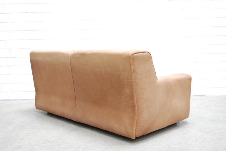 De Sede Ds 42 Neck Leather Sofa For Sale 1