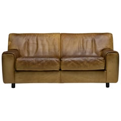 De Sede DS-42 Two-Seat Sofa in Buffalo Leather